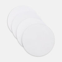 Coaster Neoprene Back (Round) 4PK-PM