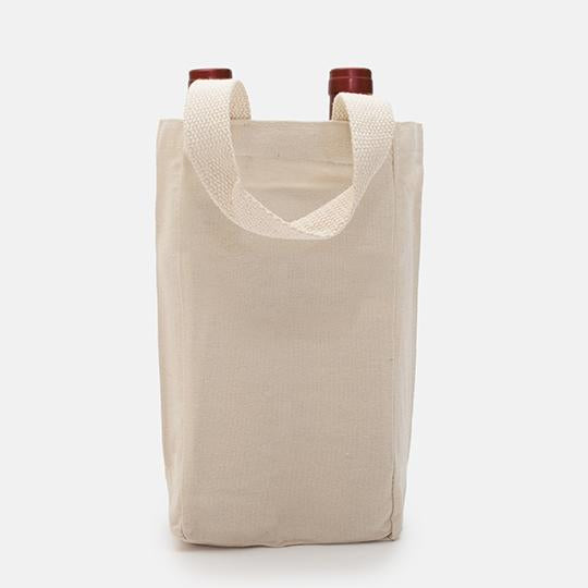 Wine Tote Canvas (Double)-PM