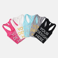 Women's Racerback Tank Next Level 1533 (Foil)-PM