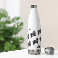 20oz Insulated Bottle Bergamasco Sheepdog