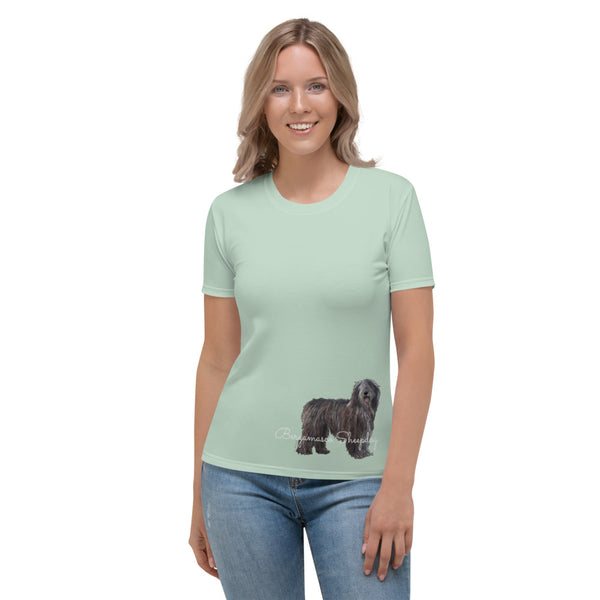 Women's T-shirt Bergamasco Sheepdog
