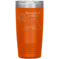 Bearded Collie 20oz tumbler 2