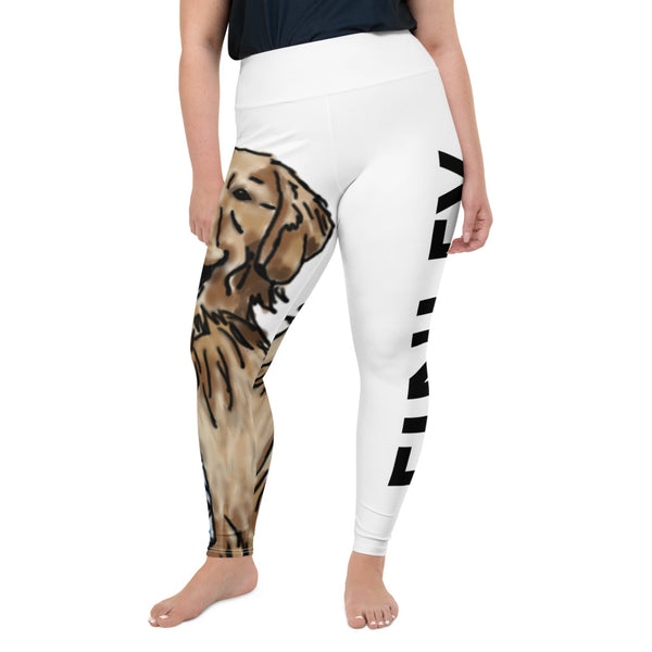 Custom Plus Size Leggings