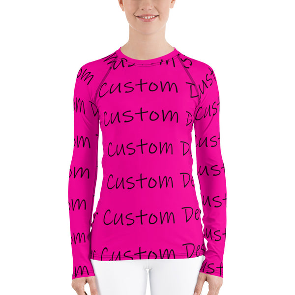 All Over Print Women's Rash Guard