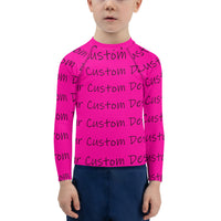 All Over Print Kids Rash Guard