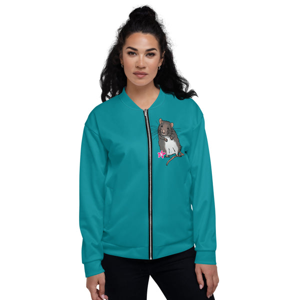 Barn Hunt Unisex Bomber Jacket