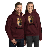 Custom Photo Unisex Hoodie! Upload your own photo & text!