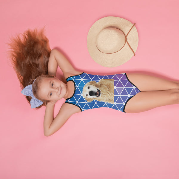 All-Over Print Kids Swimsuit Customizable!