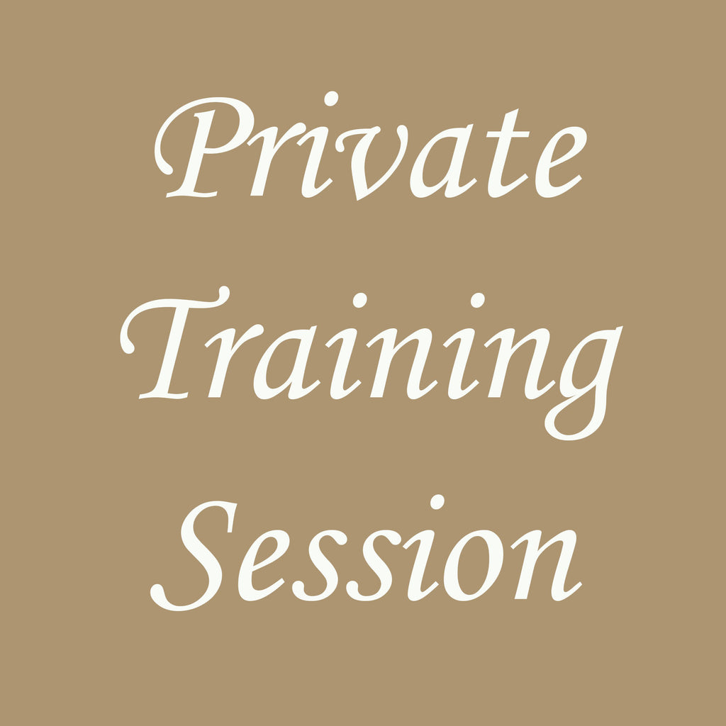 Hunt/Field or Other Private/One-On-One Training Session