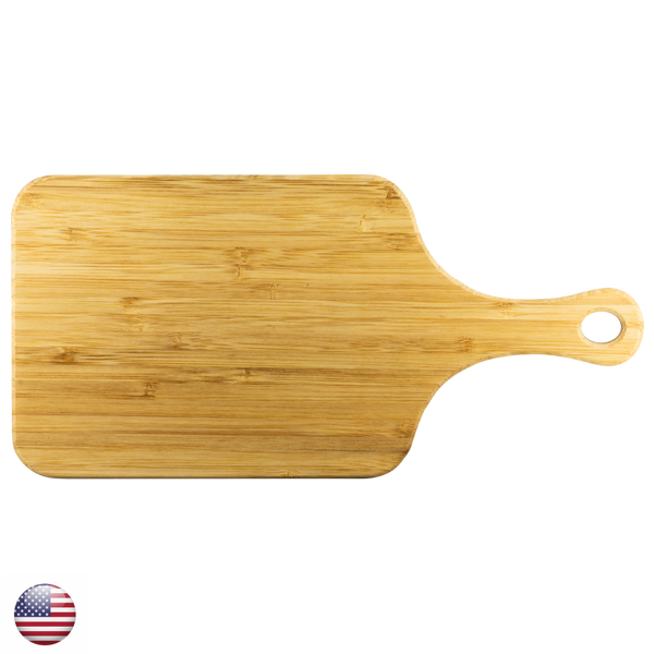 "Wood Cutting Board With Handle-Large 15""x7""-TL"