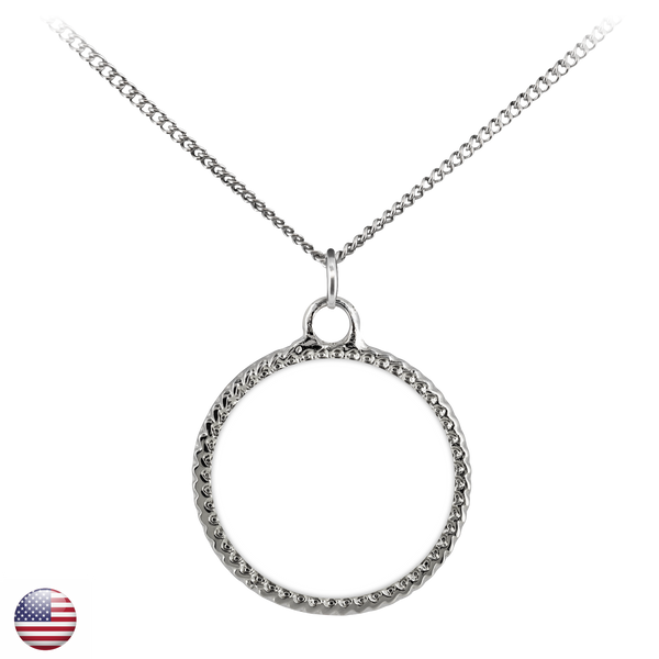 Necklace - Deco Coin-TL