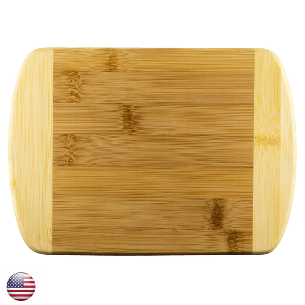 "Round Edge Wood Cutting Board-Large Size: 11""x8.5""-TL"