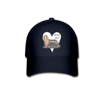 Yorkshire Terrier Baseball Cap - navy