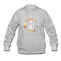 Bedlington Terrier Women's Hoodie - heather gray