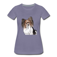 Custom Women's Premium T-Shirt - washed violet