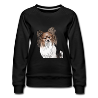 Custom Women's Premium Sweatshirt - black