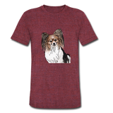 Custom Unisex Tri-Blend T-Shirt - heather cranberry