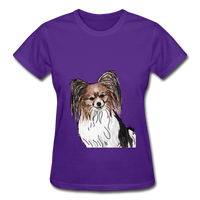 Custom Gildan Ultra Cotton Ladies T-Shirt - purple