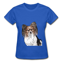 Custom Gildan Ultra Cotton Ladies T-Shirt - royal blue