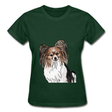 Custom Gildan Ultra Cotton Ladies T-Shirt - forest green
