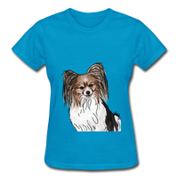 Custom Gildan Ultra Cotton Ladies T-Shirt - turquoise