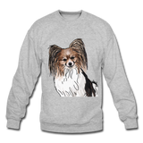 Custom Crewneck Sweatshirt - heather gray