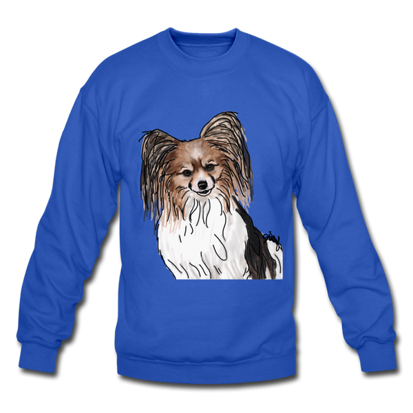 Custom Crewneck Sweatshirt - royal blue