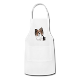 Custom Adjustable Apron - white