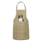 Custom Adjustable Apron - khaki