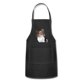 Custom Adjustable Apron - black