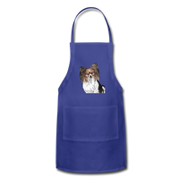 Custom Adjustable Apron - royal blue