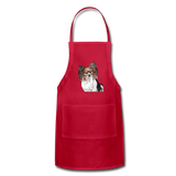 Custom Adjustable Apron - red