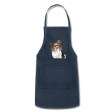 Custom Adjustable Apron - navy