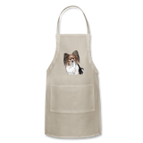 Custom Adjustable Apron - natural