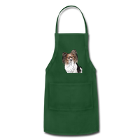 Custom Adjustable Apron - forest green