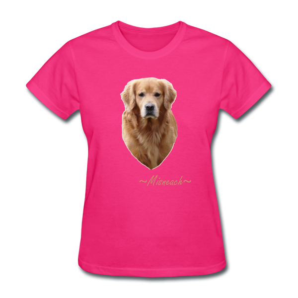barn hunt team Women's T-Shirt - fuchsia