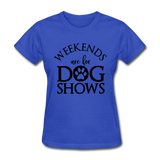 Women's T-Shirt - royal blue