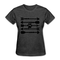 Women's T-Shirt - heather black