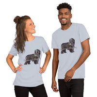 Short-Sleeve Unisex T-Shirt Bergamasco Sheepdog