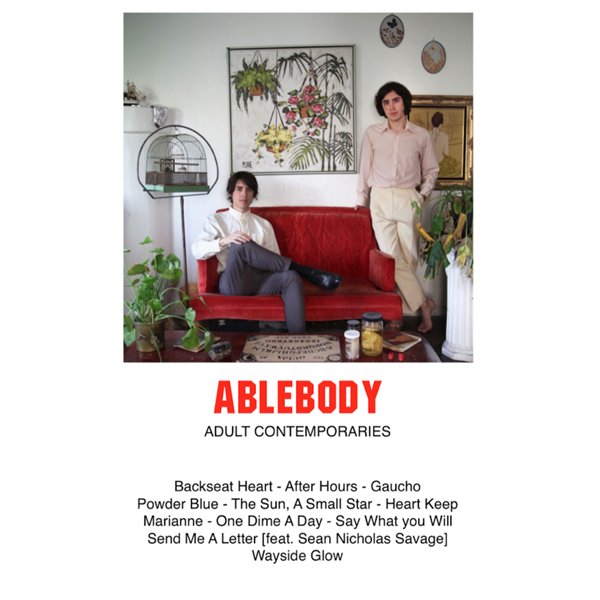 "ABLEBODY - ""Adult Contemporaries"" (CASS)"
