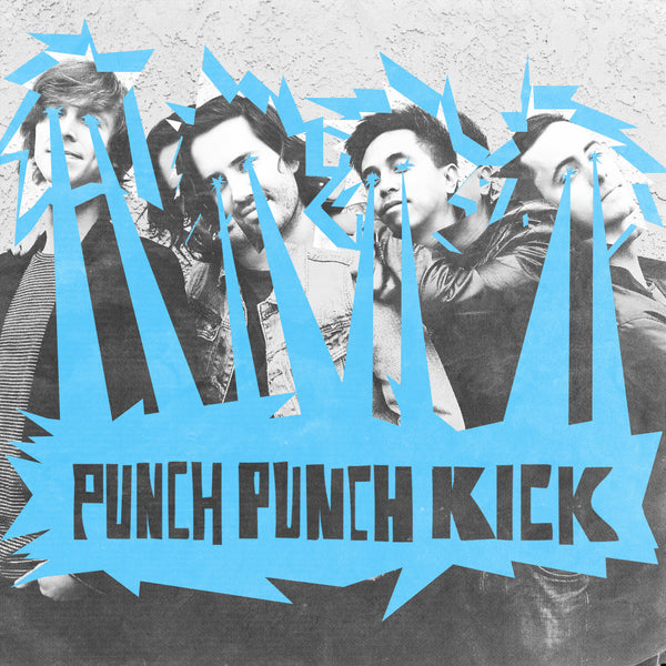"PUNCH PUNCH KICK - ""s/t"" (LP) *COLOR VINYL*"