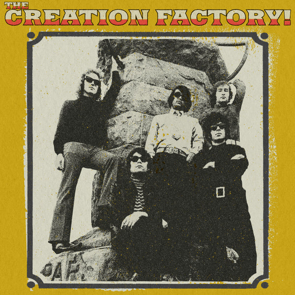 "THE CREATION FACTORY - ""s/t"" (CREAM COLOR LP) *PRE-ORDER*"