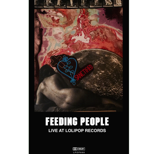 "FEEDING PEOPLE - ""Live At Lolipop"" (CASS)"