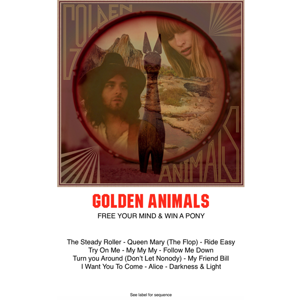 "Golden Animals ""Free Your Mind & Win A Pony"" (CASS)"
