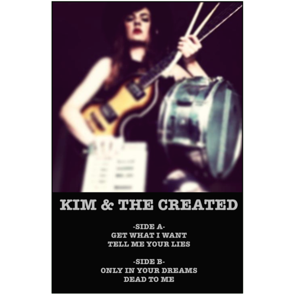 "KIM HOUSE - ""Kim & The Created"" (CASS)"