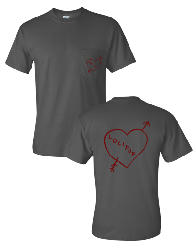 Pocket Heart Short Sleeve Tee
