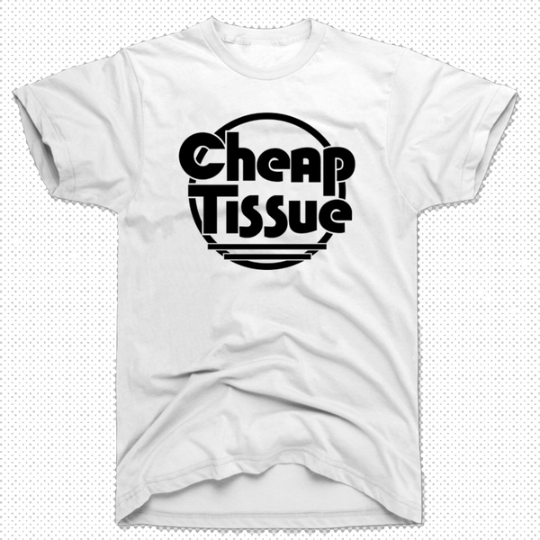 CHEAP TISSUE (White/black T-shirt)