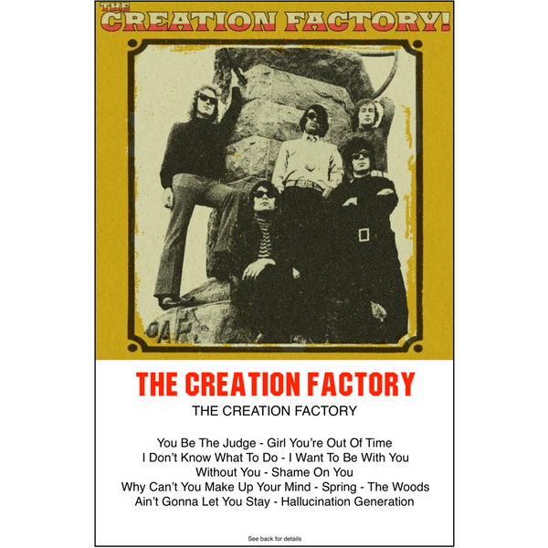 "THE CREATION FACTORY - ""s/t"" (CASS)"