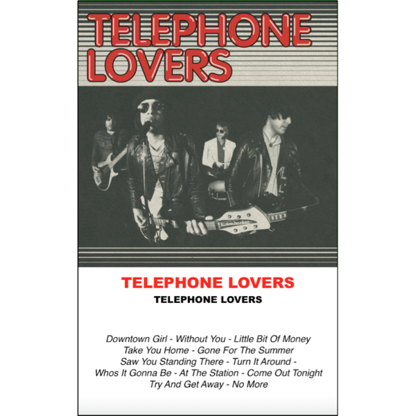 "TELEPHONE LOVERS - ""s/t"" (CASS)"