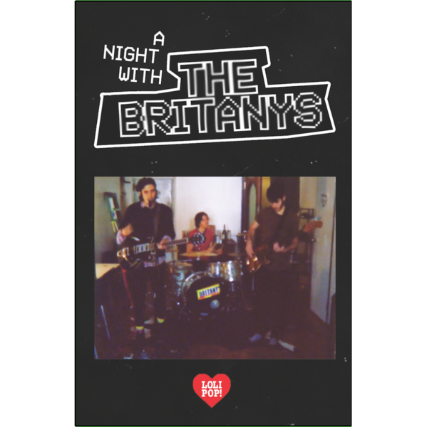 "THE BRITANYS - ""A Night With The Britanys"" (CASS)"